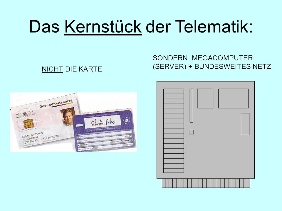 Das Kernstück der Telematik: