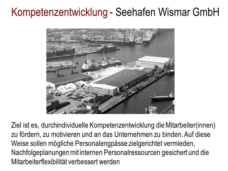 Kompetenzentwicklung - Seehafen Wismar GmbH