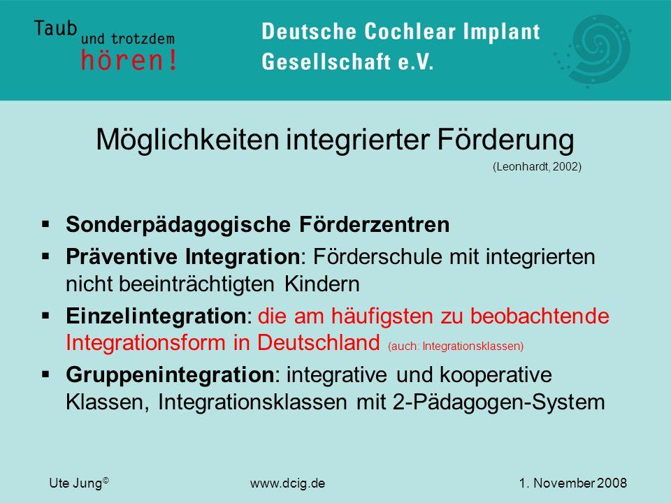 Möglichkeiten integrierter Förderung