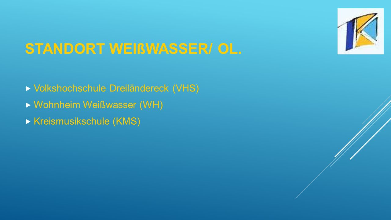 Standort Weißwasser/ OL.