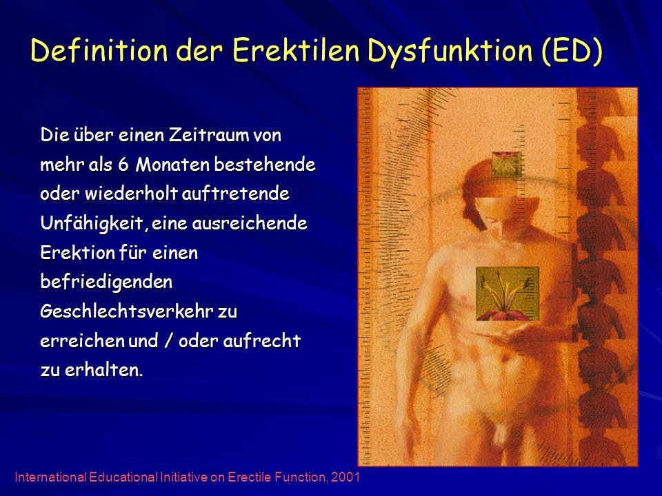 Definition der Erektilen Dysfunktion (ED)
