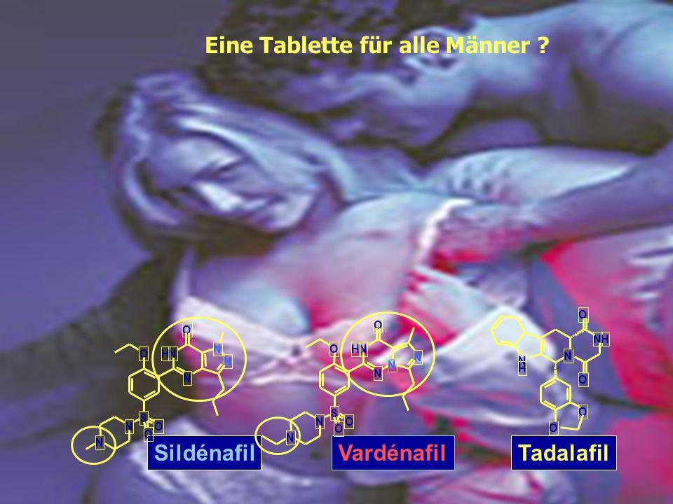 Eine Tablette für alle Männer