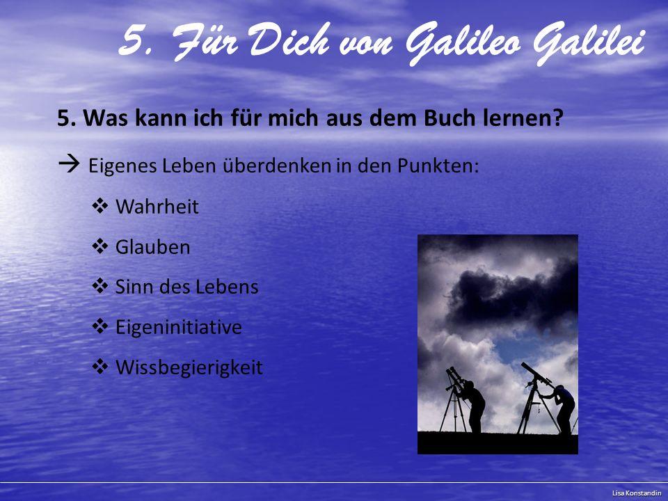 5. Für Dich von Galileo Galilei