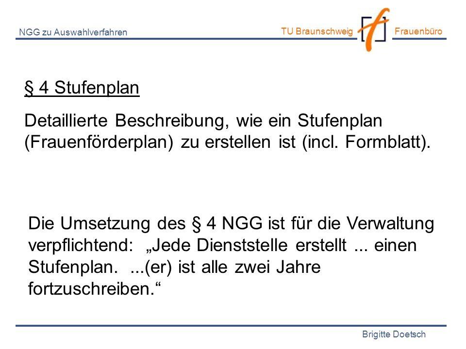 NGG zu Auswahlverfahren
