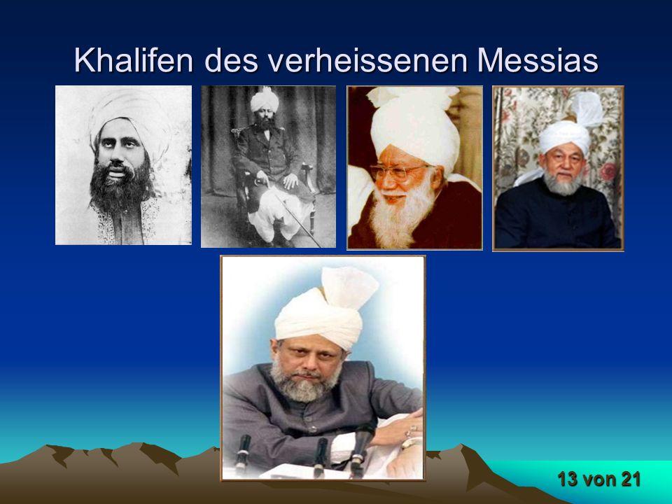 Khalifen des verheissenen Messias