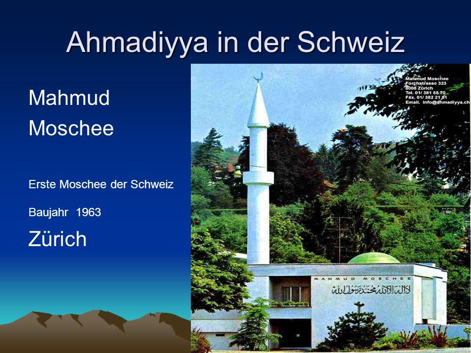 Ahmadiyya in der Schweiz