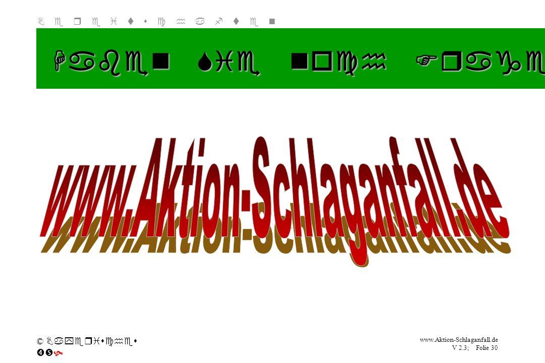 Haben Sie noch Fragen www.Aktion-Schlaganfall.de