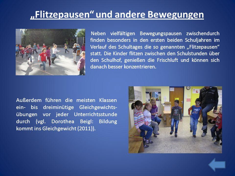 """""""Flitzepausen und andere Bewegungen"""