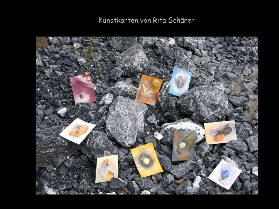 Kunstkarten von Rita Schärer