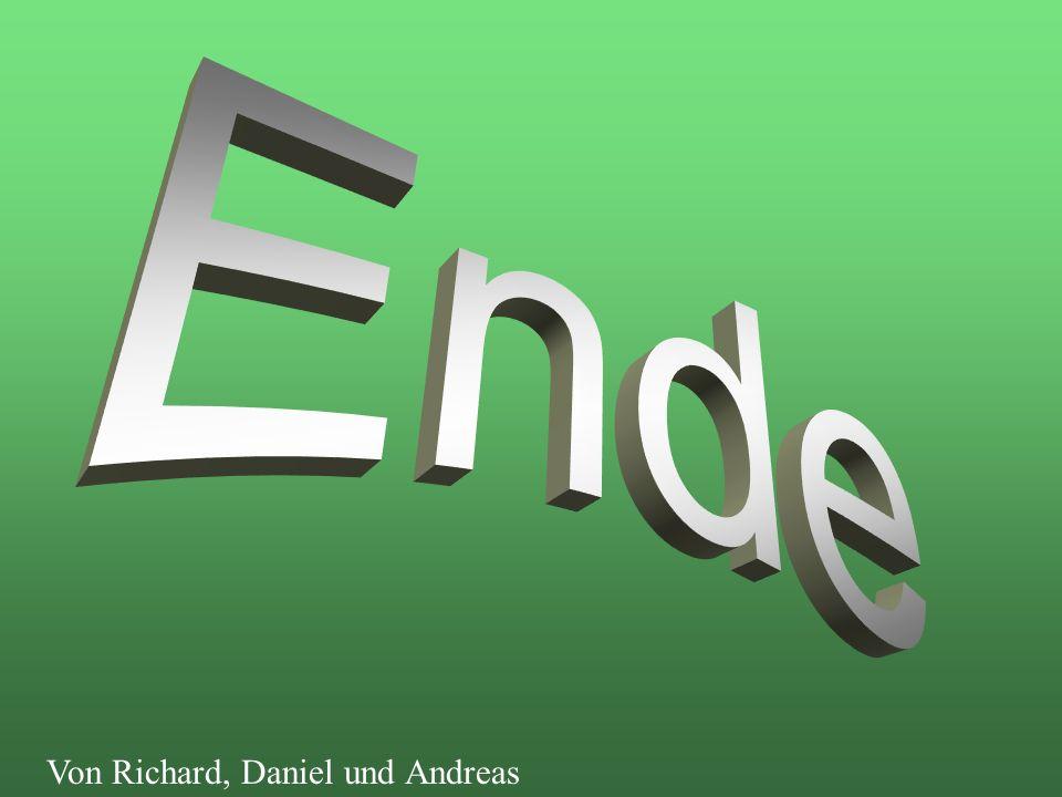 Ende Von Richard, Daniel und Andreas