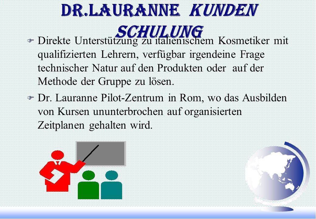 DR.LAURANNE KUNDEN SCHULUNG