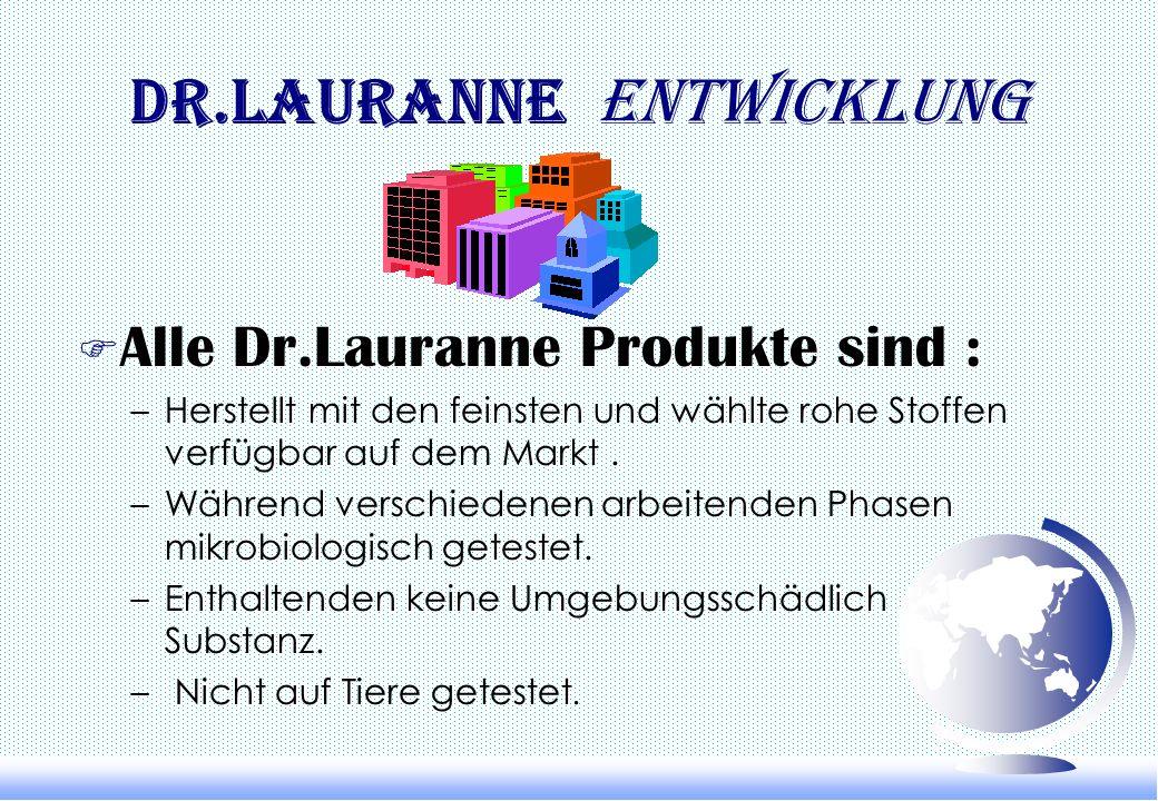 Dr.Lauranne Entwicklung