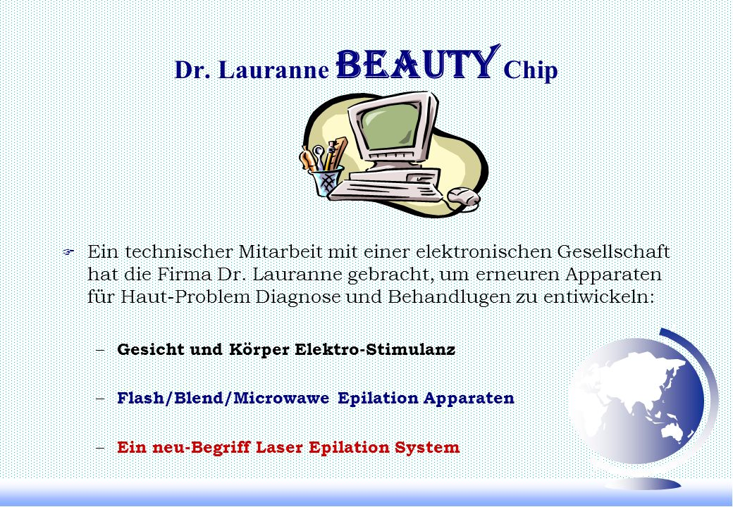 Dr. Lauranne Beauty Chip