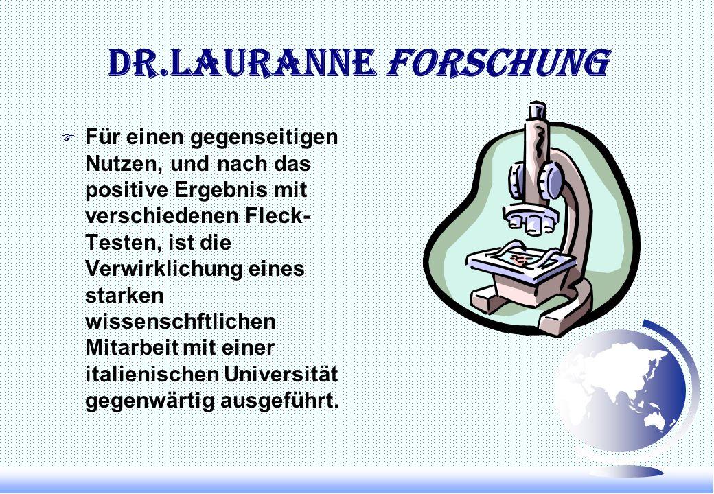 Dr.Lauranne Forschung