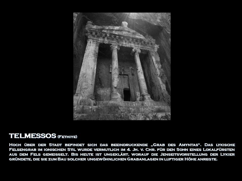 TELMESSOS (Fethiye)