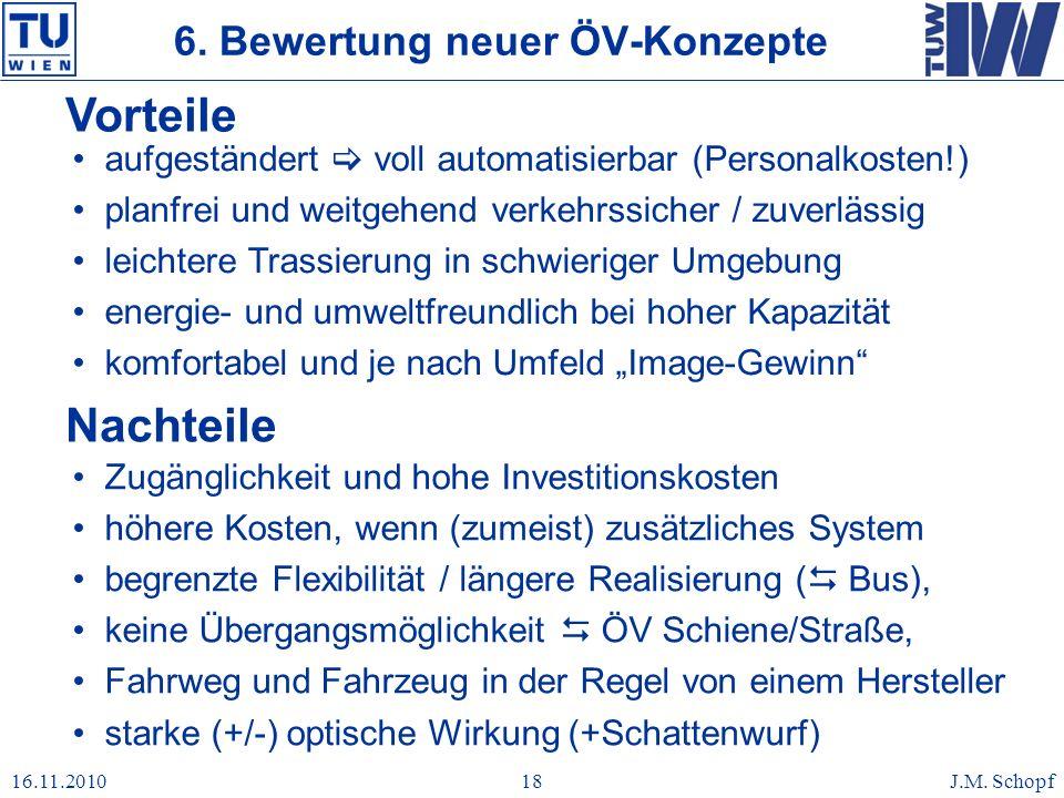 6. Bewertung neuer ÖV-Konzepte