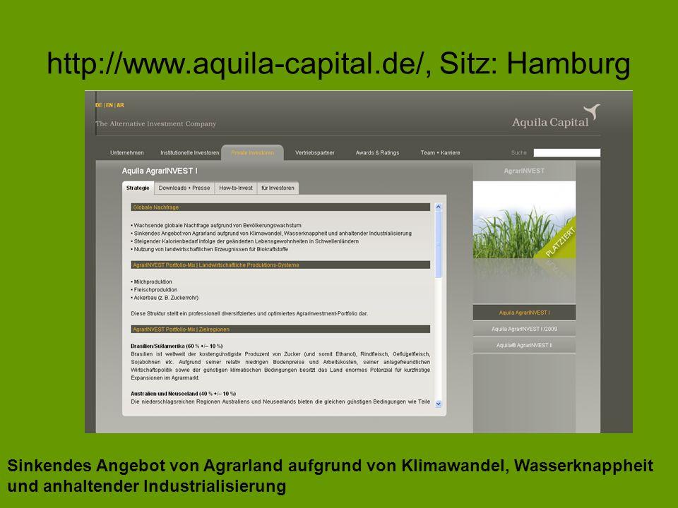 http://www.aquila-capital.de/, Sitz: Hamburg