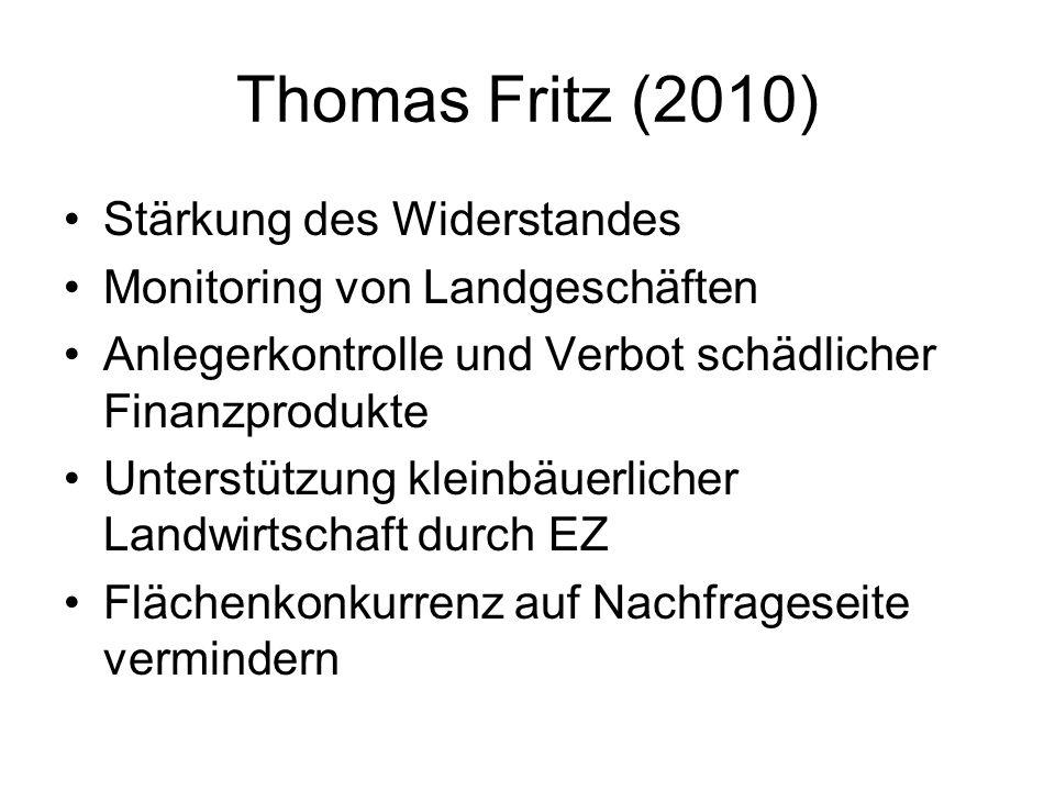 Thomas Fritz (2010) Stärkung des Widerstandes