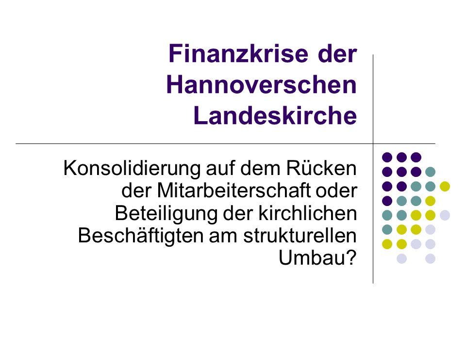 Finanzkrise der Hannoverschen Landeskirche