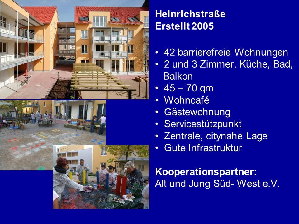 Heinrichstraße Erstellt 2005