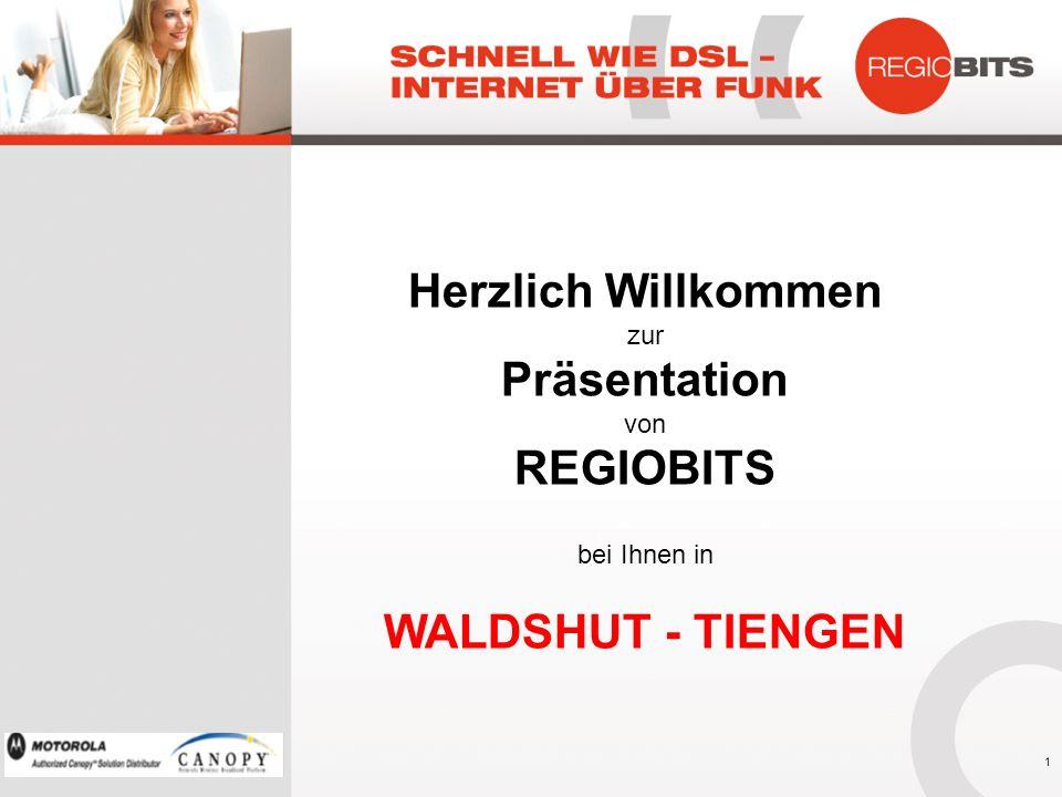 Herzlich Willkommen Präsentation REGIOBITS WALDSHUT - TIENGEN