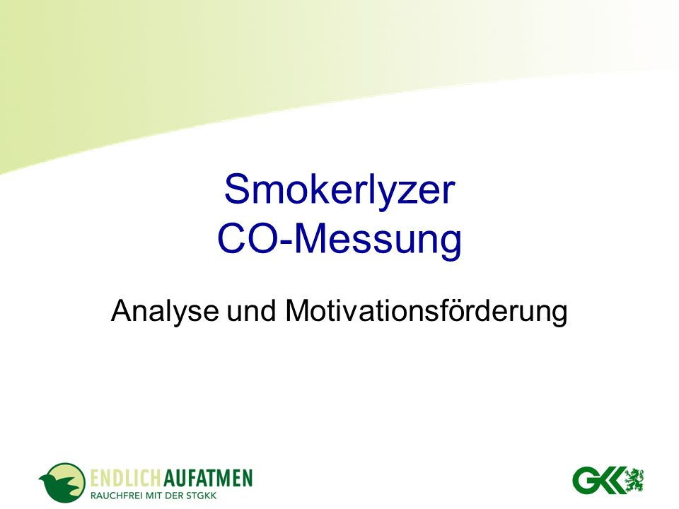 Smokerlyzer CO-Messung