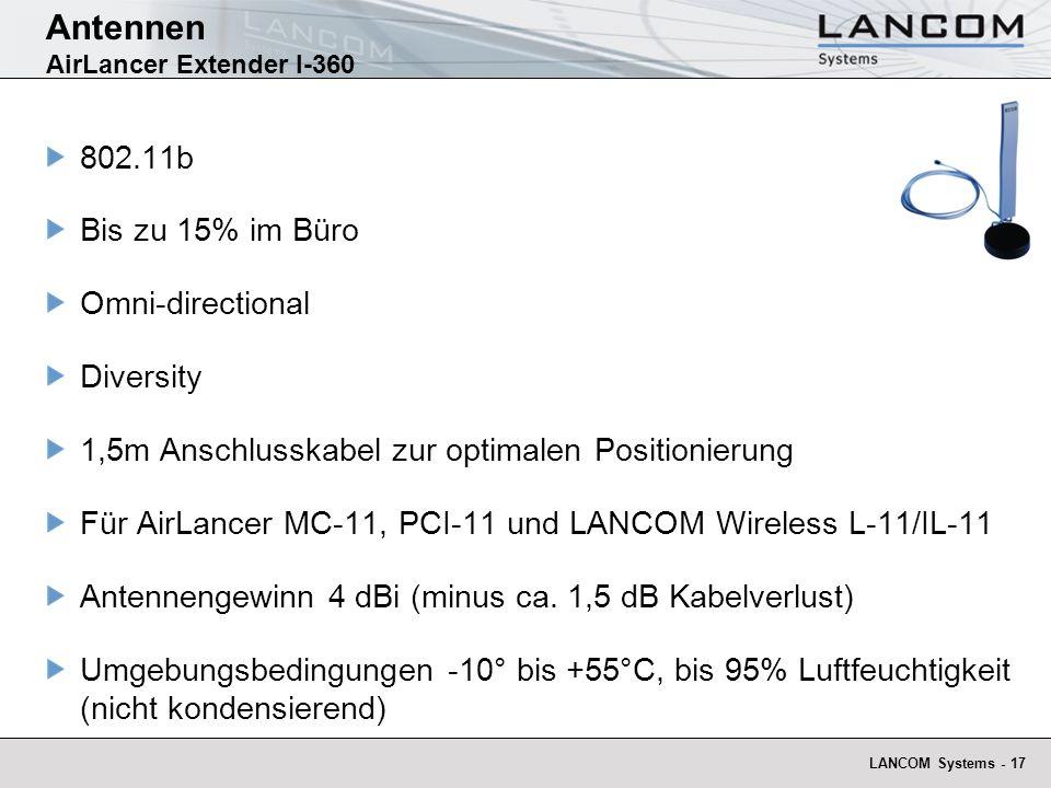 Antennen AirLancer Extender I-360