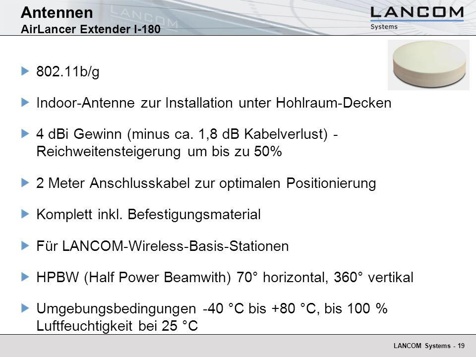 Antennen AirLancer Extender I-180