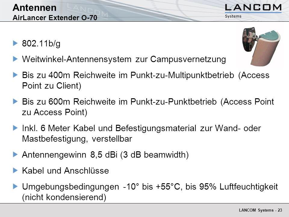 Antennen AirLancer Extender O-70