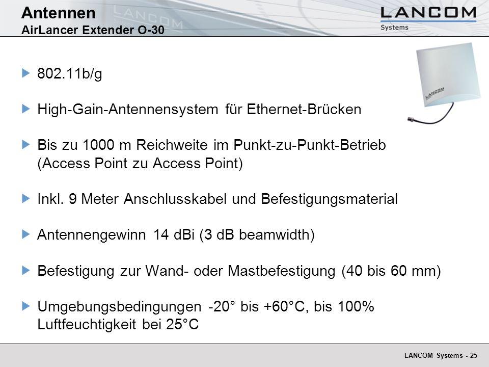 Antennen AirLancer Extender O-30