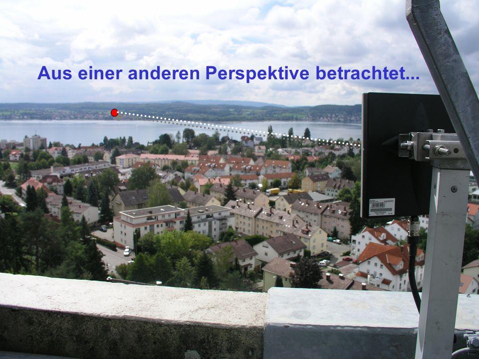 Aus einer anderen Perspektive betrachtet...