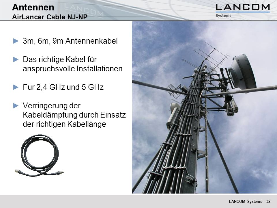 Antennen AirLancer Cable NJ-NP