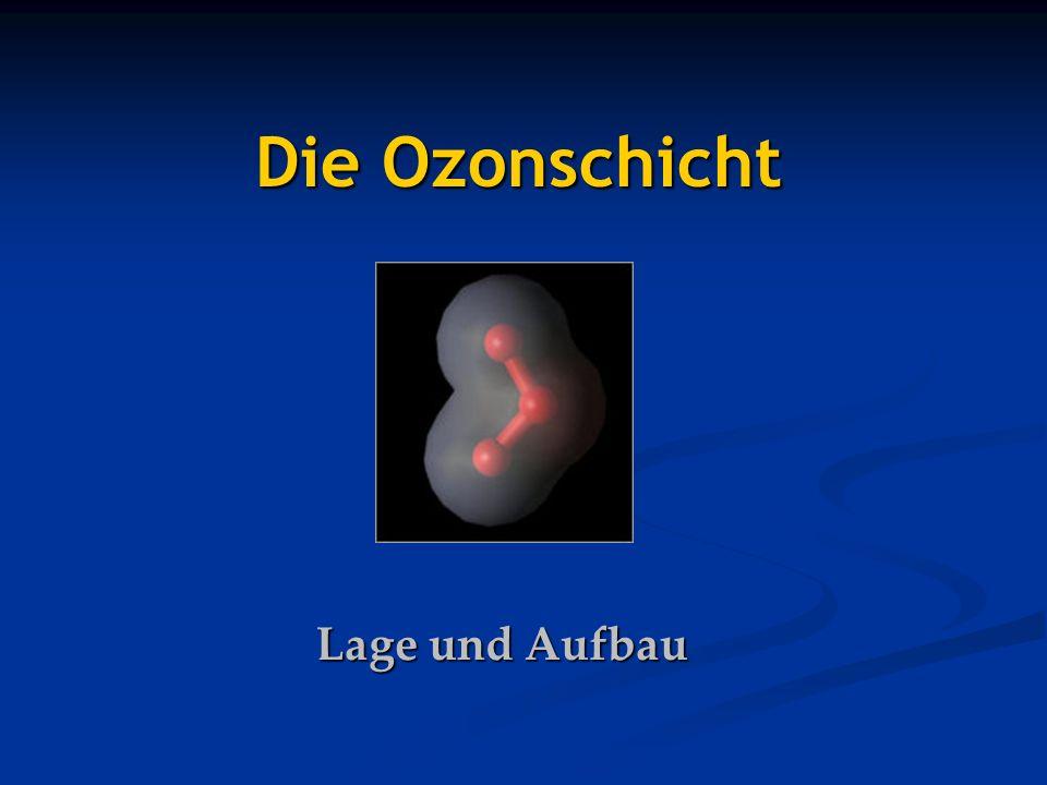 Die Ozonschicht Lage und Aufbau