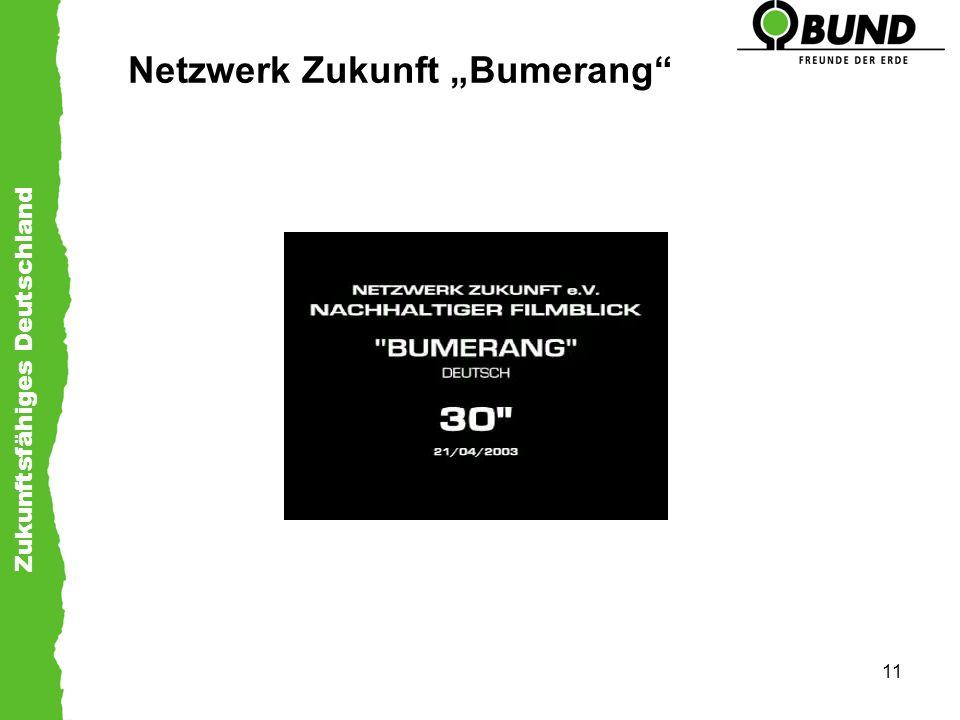 """Netzwerk Zukunft """"Bumerang"""