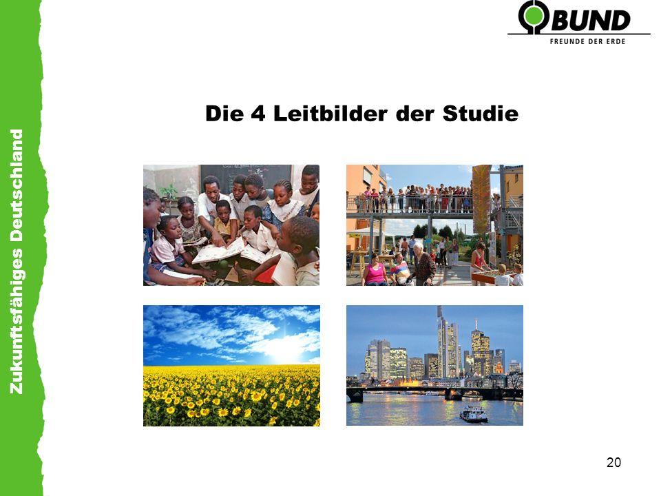 Die 4 Leitbilder der Studie
