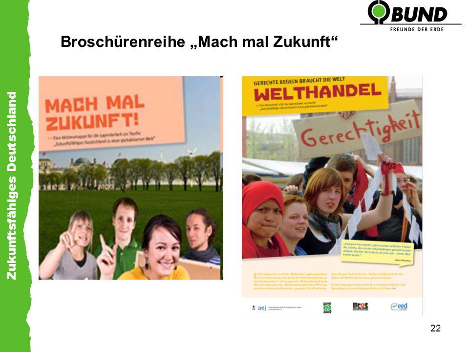 """Broschürenreihe """"Mach mal Zukunft"""