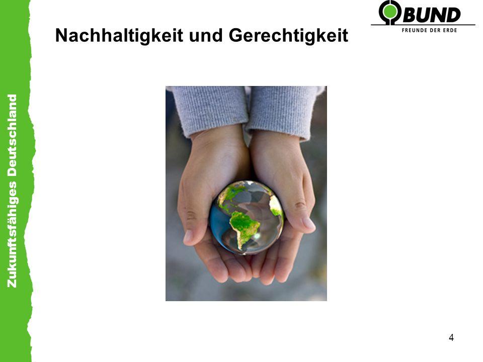 Nachhaltigkeit und Gerechtigkeit