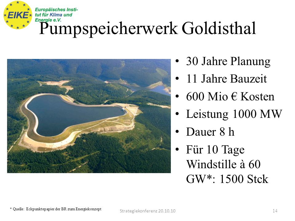 Pumpspeicherwerk Goldisthal