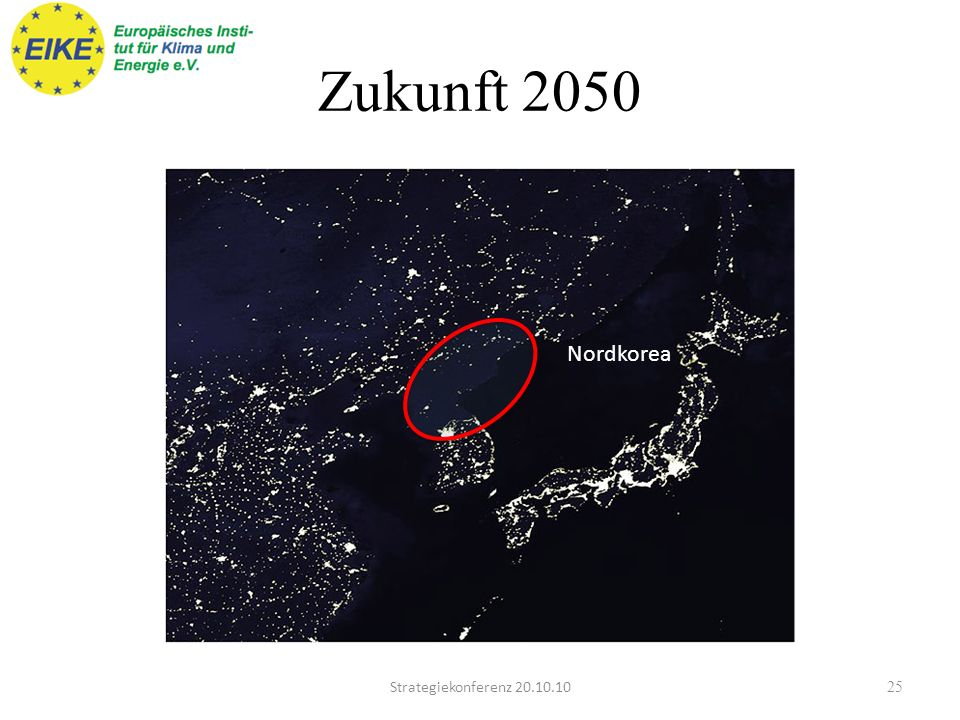 Zukunft 2050 Nordkorea Strategiekonferenz 20.10.10