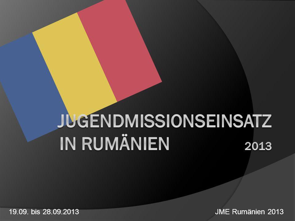 Jugendmissionseinsatz in rumänien 2013