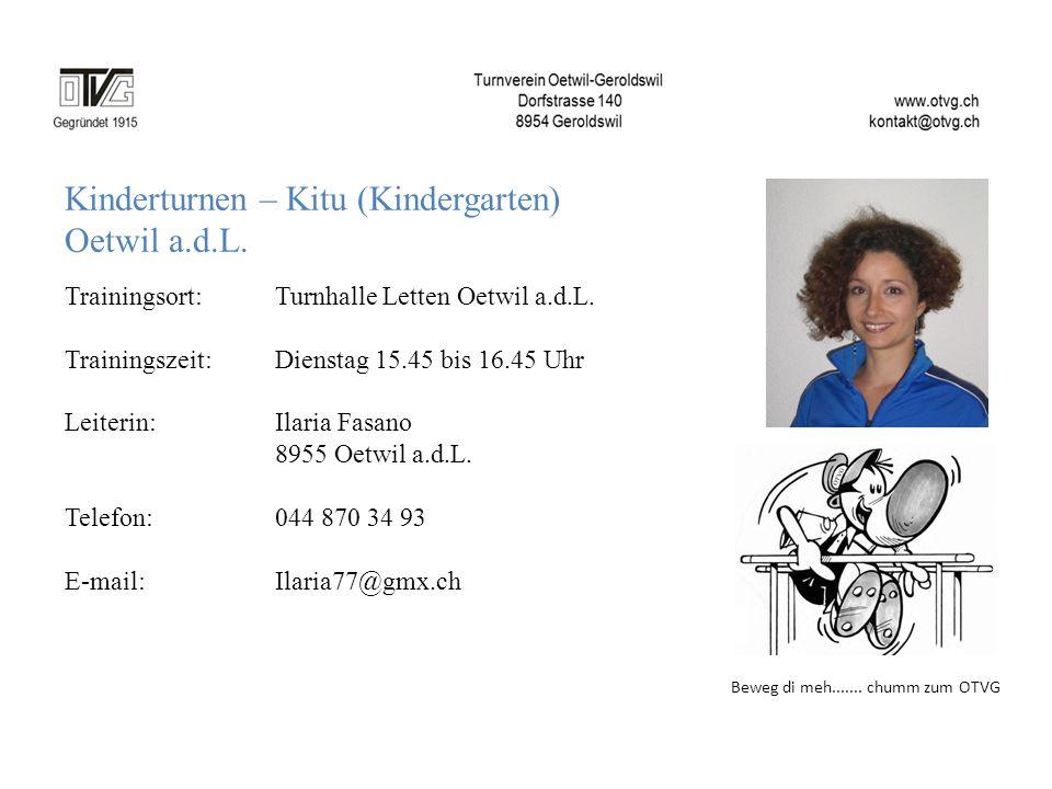Kinderturnen – Kitu (Kindergarten) Oetwil a.d.L.