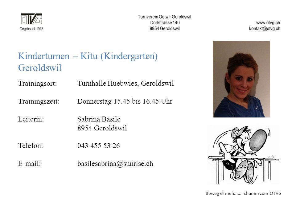Kinderturnen – Kitu (Kindergarten) Geroldswil