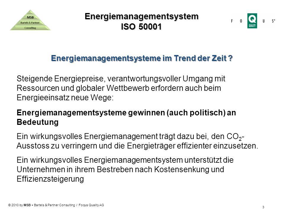Energiemanagementsystem Energiemanagementsysteme im Trend der Zeit