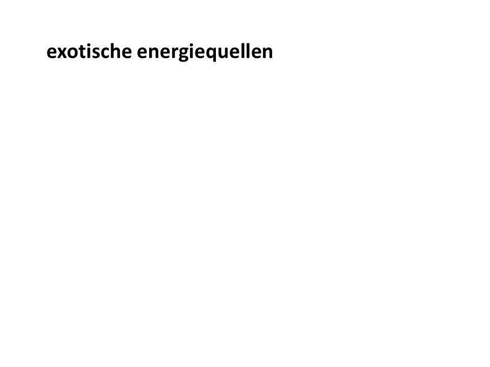 exotische energiequellen