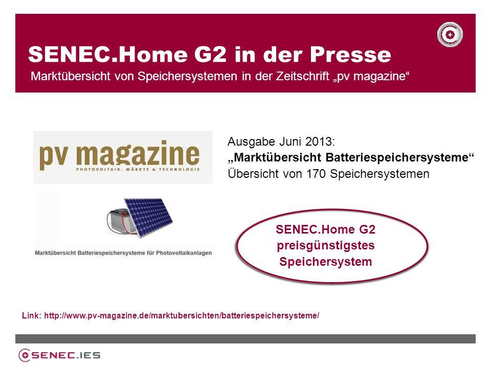SENEC.Home G2 in der Presse