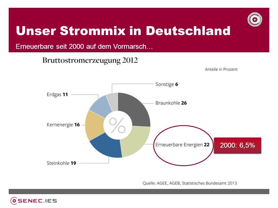 Unser Strommix in Deutschland