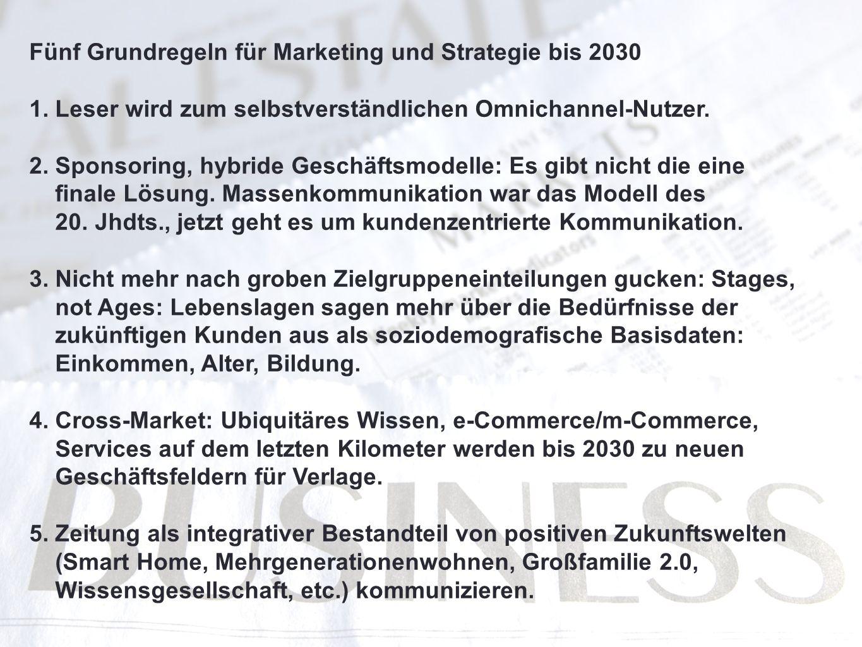 Fünf Grundregeln für Marketing und Strategie bis 2030 1