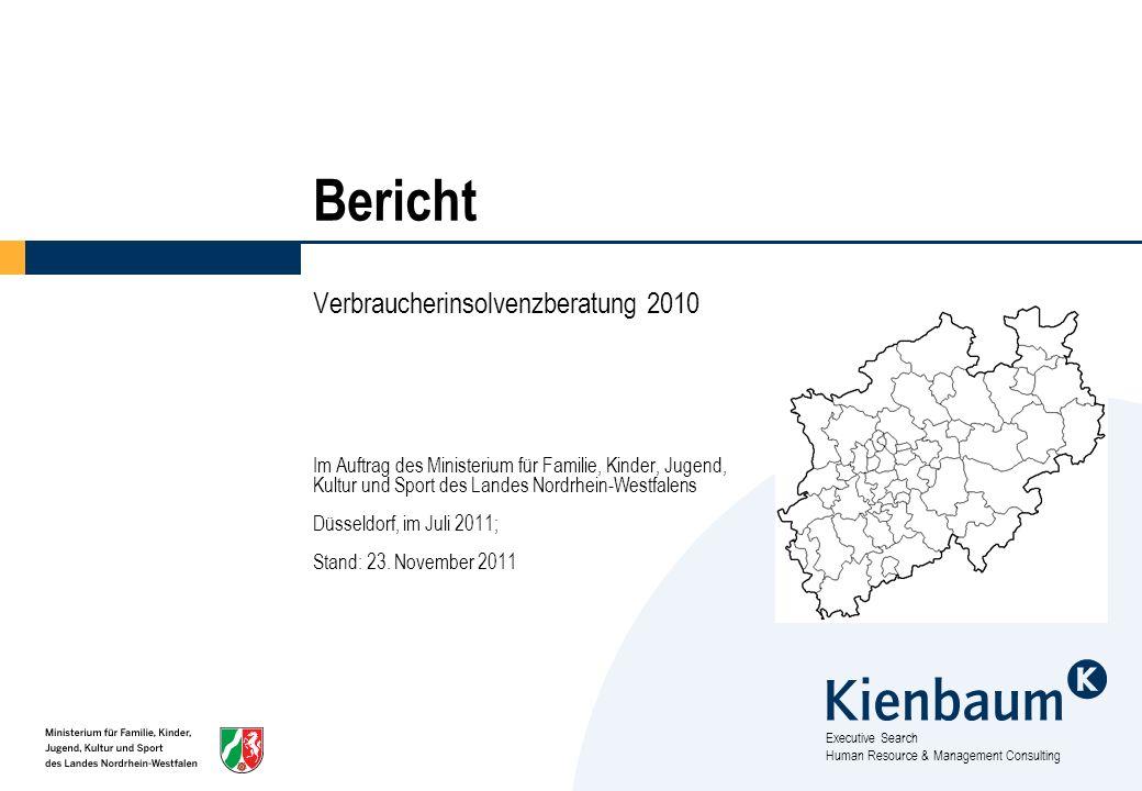 Bericht Verbraucherinsolvenzberatung 2010