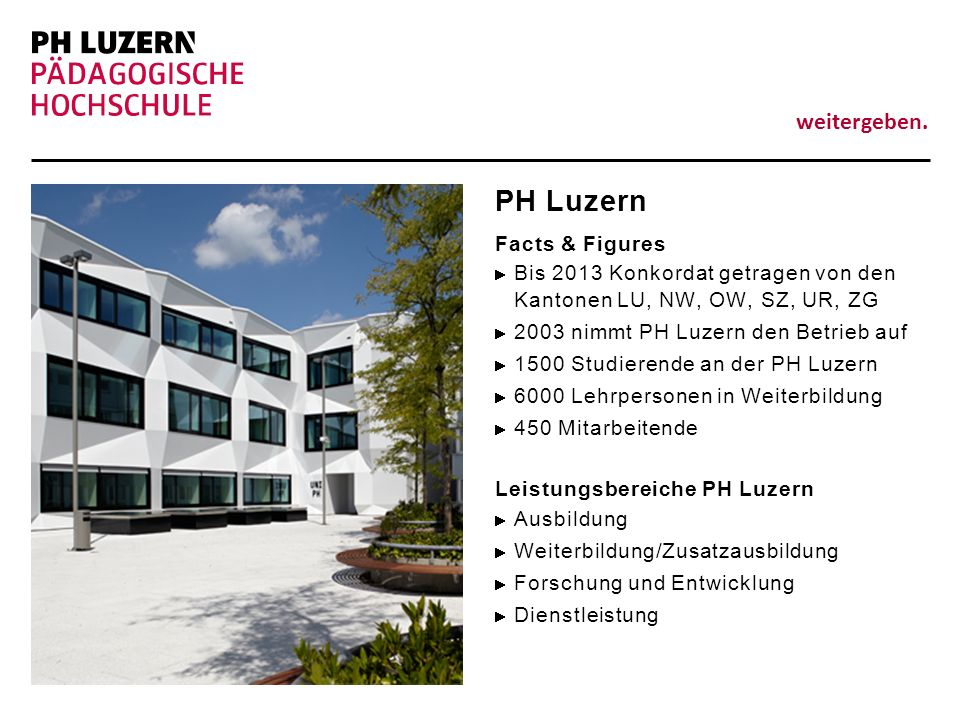 PH Luzern Facts & Figures