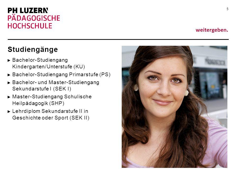 Studiengänge Bachelor-Studiengang Kindergarten/Unterstufe (KU)